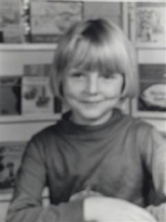 Me aged 5 and not, as lots of people think, a pretty girl.  My mum didn't believe in haircuts and it was 1969 after all.